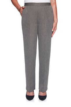 Image: Petite Stripe Proportioned Medium Pant