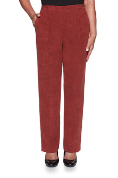 Image: Petite Suede Proportioned Medium Pant