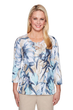 Image: Petite Tropical Top