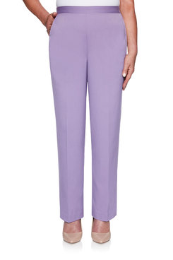 Image: Petite Valley Twill Proportioned Medium Pant