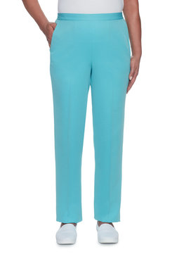 Pinpoint Microfiber Proportioned Medium Pant