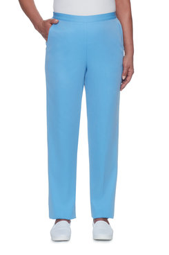 Pinpoint Microfiber Proportioned Short Pant