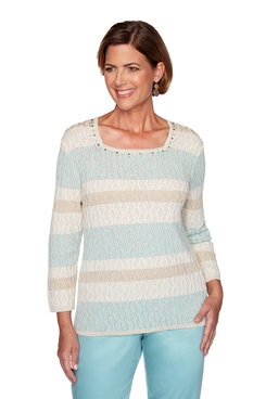 Image: Plus Biadere Textured Sweater