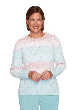 Image: Plus Chenille Biadere Sweater