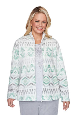 Image: Plus Chinle Biadere Fleece Jacket