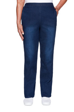 Image: Plus Classic Allure Proportioned Medium Denim Pant