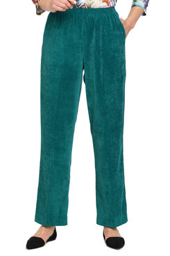 Image: Plus Classics Corduroy Pull-On Proportioned Short Pant