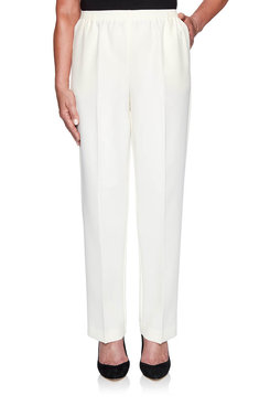 Image: Plus Classics Pull-On Proportioned Medium Pant