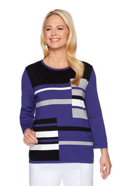 Image: Plus Colorblock Embellished Sweater