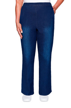 Image: Plus Denim Proportioned Medium Pant