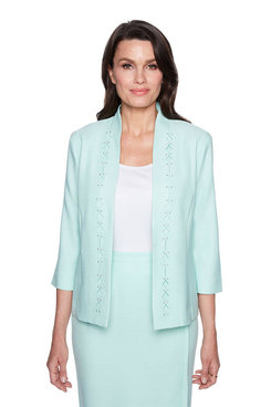 Image: Plus Diamond Cut Out Jacket