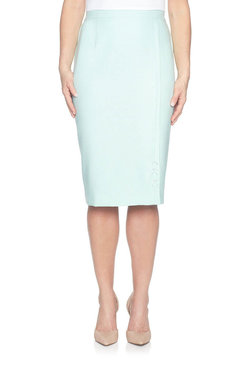 Image: Plus Diamond Cut Out Skirt