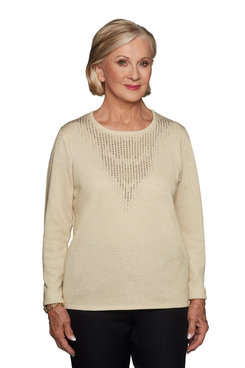 Image: Plus Embellished Sweater