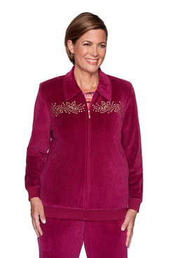 Image: Plus Embellished Yoke Jacket