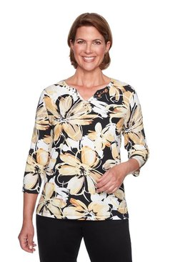 Image: Plus Exploded Floral Top
