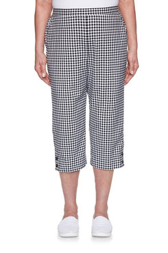 Image: Plus Gingham Capri