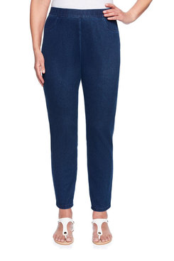 Image: Plus Knit Denim Jegging