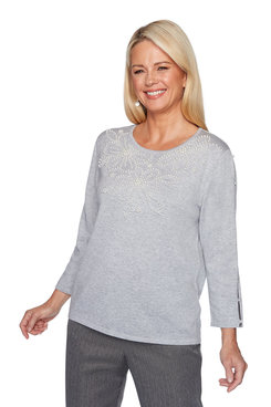 Image: Plus Pearl Yoke Sweater