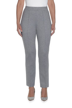 Image: Plus Proportioned Medium Slim Ponte Pant