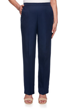 Image: Plus Proportioned Short Microfiber Pant