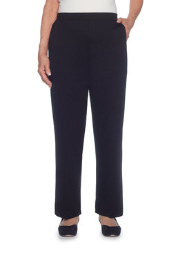 Plus Proportioned Short Ponte Knit Pant