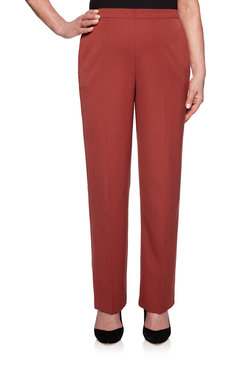 Image: Plus Proportioned Short Twill Pant