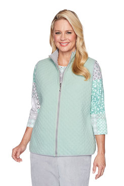 Image: Plus Reversible Quilt Vest