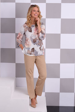 Image: Plus Sateen Proportioned Medium Pant