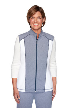 Image: Plus Spliced Texture Vest