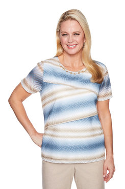 Image: Plus Stripe Top