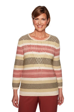 Image: Plus Texture Biadere Sweater