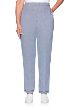 Image: Plus Texture Proportioned Medium Pant
