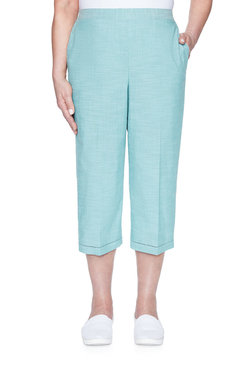 Image: Plus Textured Capri