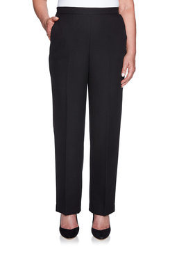 Image: Proportioned Medium Crepe Pant