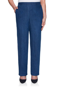Image: Proportioned Medium Denim Pant