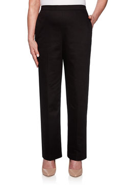 Image: Proportioned Medium Sateen Pant