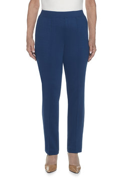 Proportioned Short Slim Ponte Pant