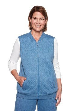 Image: Quilted Knit Vest