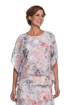 Rose Hill Butterfly Print Top