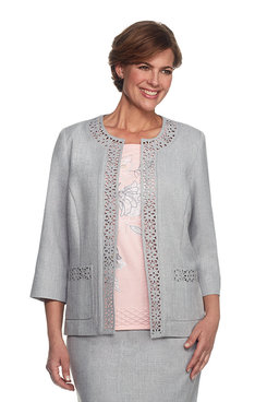 Rose Hill Laser Cut Jacket