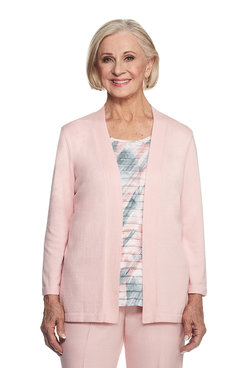 Rose Hill Plus Brushstroke Two For One Sweater