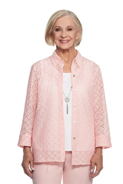 Rose Hill Plus Lace Two For One Top