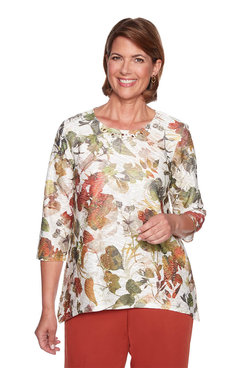 Image: Shadow Floral Top