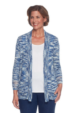 Image: Space Dye Cardigan Sweater