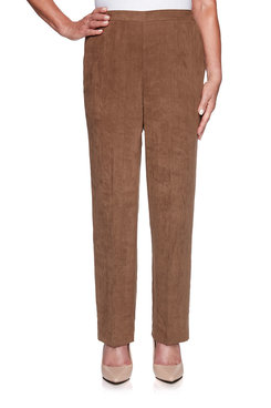 Image: Suede Proportioned Medium Pant