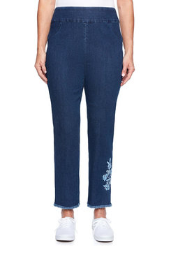 Image: Super Stretch Embellished Ankle Pant