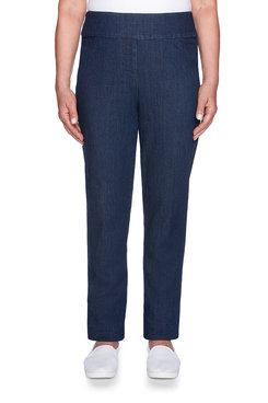 Image: Super Stretch Proportioned Short Denim Pant