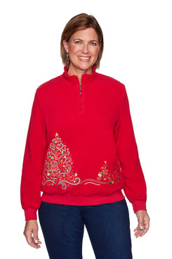 Image: Tree Embroidered Pullover