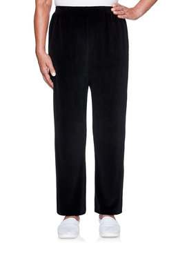 Image: Velour Proportioned Medium Pant